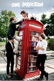 One Direction Take Me Home - Czerwona Budka Telefoniczna - plakat