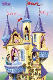 Disney Princess Księżniczki w Zamku - plakat