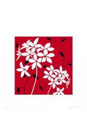 Czerwone Kwiaty - reprodukcja