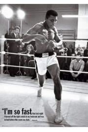 Muhammad Ali Trening - plakat