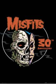 Misfits Czaszka - 30 Rocznica - plakat