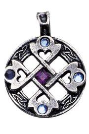 Krzyż celtycki z sercami