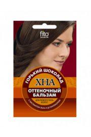 Odżywka koloryzująca do włosów HENNA - gorzka czekolada FIT Fitocosmetic