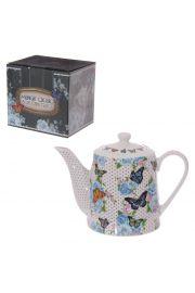 Motyl Chuoko Czajnik do Herbaty z porcelany