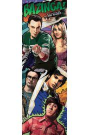 The Big Bang Theory - Komiks - plakat