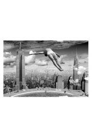 Nowy Jork Basen na Dachu Wie�owca - plakat