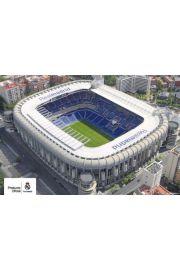 Real Madryt Stadion Santiago Bernabeu - plakat