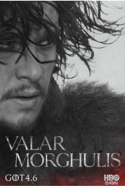 Gra o Tron Jon Snow - plakat