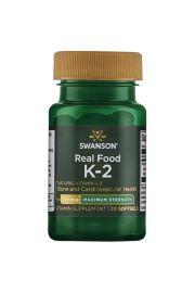 Swanson Witamina K2 naturalna MK-7 200ug 30 kaps.