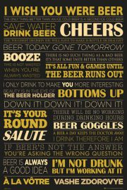Piwo jest jak �ycie - plakat