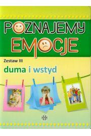 Poznajemy emocje Zestaw 3 Duma i wstyd