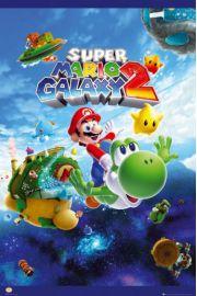 Nintendo Super Mario Galaxy 2 - plakat