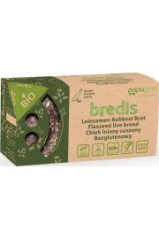 Chleb Lniany Suszony Z Cukinią Bezglutenowy Bio 70 G - Papagrin