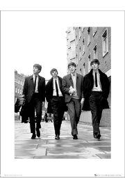 The Beatles In London - art print
