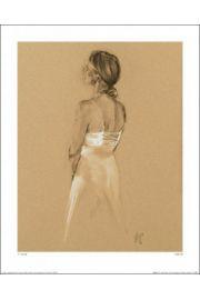 Kobieta w bieli - reprodukcja