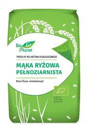 Mąka Ryżowa Pełnoziarnista Bio 500 G - Bio Planet