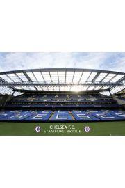 Chelsea Londyn Stadion Stamford Bridge - plakat