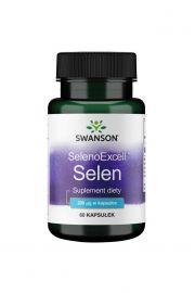Swanson SelenoExcell (naturalny selen) 200ug 60 kaps.