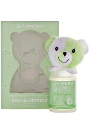 Alphanova Bebe Hypoallergiczna Woda Zapachowa-Zielony Miś