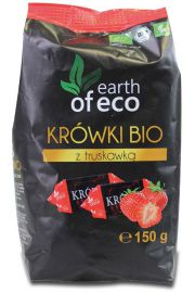 Kr�wki Z Liofilizowan� Truskawk� Bio 150 G - Earth Of Eco