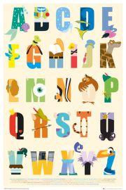 Alfabet z Disneyem - plakat