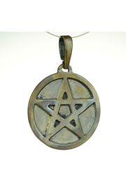 Pentagram pe�ny, br�z