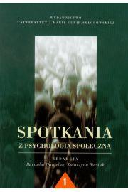 Spotkania z psychologią społeczną 1