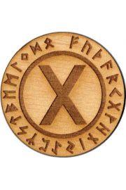 Runa Gebo 5 cm - amulet drewniany