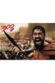 300 Spartan Leonidas - plakat