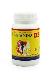 Witamina D3 120 Tabletek - Mts