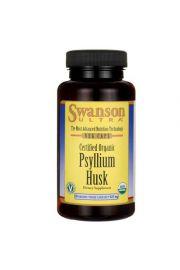 Swanson Organic Psylium Husk (babka jajowata) 625mg 60 kaps.