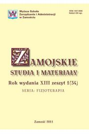 Zamojskie Studia i Materia�y. Seria Fizjoterapia. R. 13, 1(34)