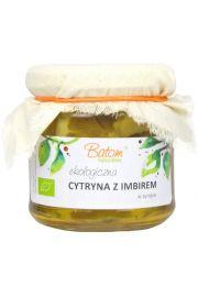 Cytryna Z Imbirem W Syropie Bio 220 Ml - Batom