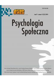 Psychologia Spo�eczna nr 4(31)/2014