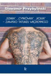 DZIARA, CYNK�WKA, KOLKA - zjawisko tatua�u wi�ziennego