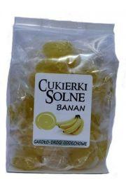 Cukierki solne o smaku bananowym z sol� himalajsk�, 100g