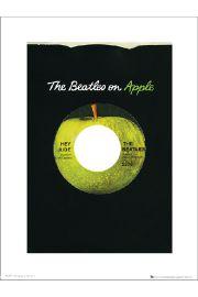 The Beatles Apple - art print