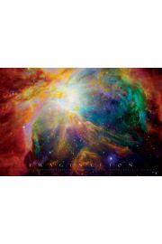 Wyobraźnia - Kosmos i Gwiazdy - plakat motywacyjny