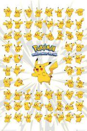 Pokemon Go Pikachu - plakat