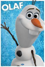 Kraina Lodu Frozen Bałwanek Olaf - plakat