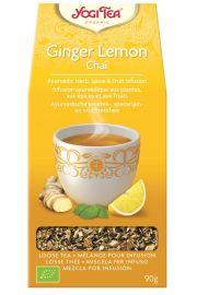 YOGI TEA Czaj Imbirowo-Cytrynowy 90g (herbata sypana, do gotowania)