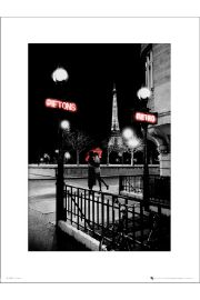Paris Metro - art print