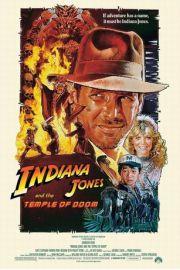 Indiana Jones i �wi�tynia Zag�ady - plakat