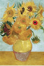 Vincent Van Gogh Słoneczniki - plakat