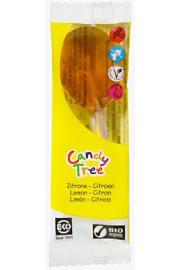Lizak O Smaku Cytrynowym Bezglutenowe Bio 13 G - Candy Tree