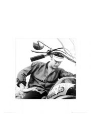Elvis Presley Harley Davidson - reprodukcja