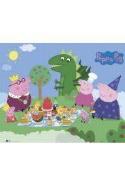 Świnka Peppa Piknik - plakat