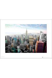 New York Cityscape Colours - art print