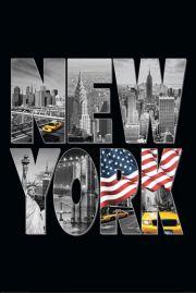 Nowy Jork Symbol USA - plakat