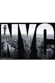 Nowy Jork - NYC mural - plakat